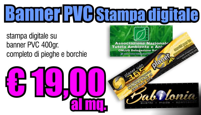 Banner PVC monofacciale